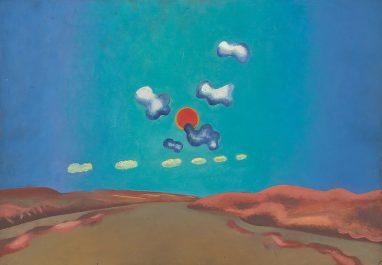 Wolfgang Mattheuer, Tag, 1964, Öl auf Hartfaser, 36,5 x 50,5 cm