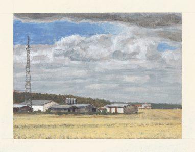 Stallung, 2012, 9 x 12 cm