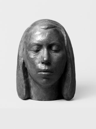 Portrait Marianne Vogelsang II, 1937, Bronze, H 33 cm