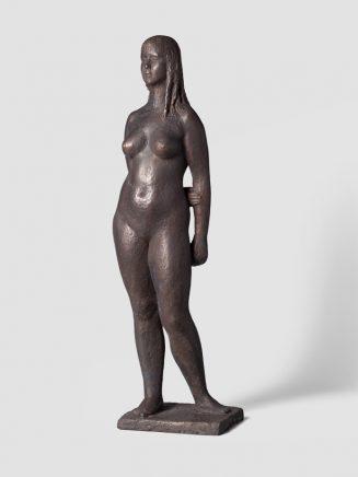 Stehender Akt (Age), 1959, Bronze, H 69,3 cm