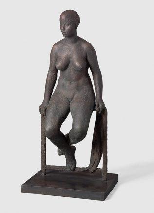 Schwimmerin, 1959/60, Bronze, H 105 cm