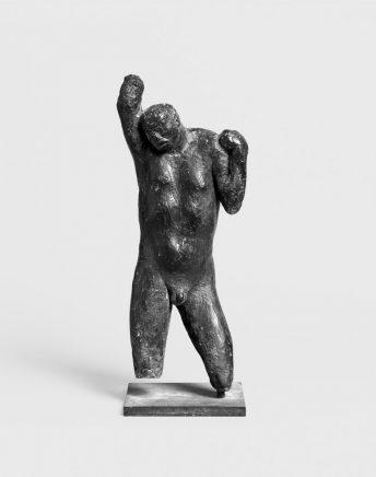 Aufsteigender II, 1967, Bronze, H 41 cm