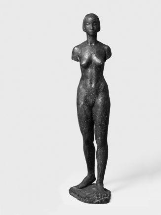 Torso Trini (mit Kopf), 1967, Bronze, H 132 cm