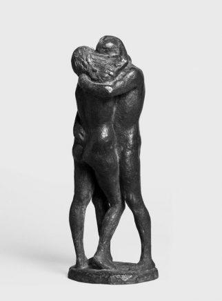 Kleines Liebespaar, 1969, Bronze, H 28 cm