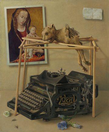 Ideal, 2014, Mischtechnik auf Maltafel, 60 x 50 cm