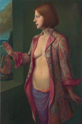 Eine Spanierin, 2013, Öl auf Hartfaser, 90 x 60 cm