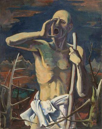Karl Hofer, der Rufer, 1938