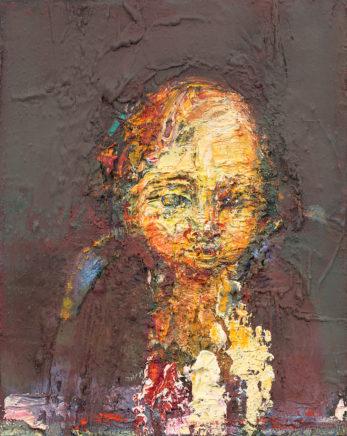 o.T. (#71), 2013, Öl auf Leinwand, 30 x 24 cm