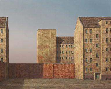 Markus Matthias Krüger, Depot, 2019, Acryl und Öl auf Leinwand, 60 x 75 cm