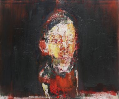 Gero Künzel, o.T., 2010, Öl auf Leinwand, 100 x 120 cm
