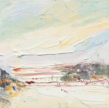 o.T. (#59), 2018, Öl auf Leinwand, 30 x 30 cm