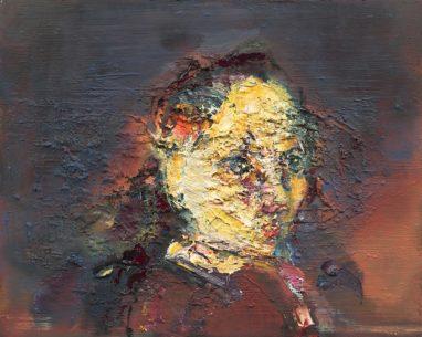 o.T. (#87), 2014/2018, Öl auf Leinwand, 40 x 50 cm
