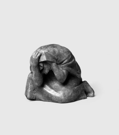 Fritz Cremer, Mutter aus Figurengruppe 'Mütter' (Nr. 11), 1939, Bronze, H 18, B 20, T 22 cm