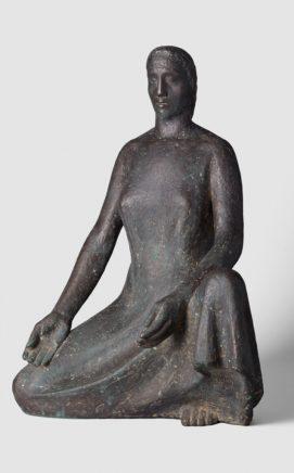 Fritz Cremer, Mutter Erde, 1951, Bronze, H 52 cm