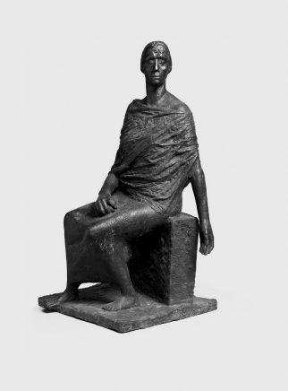 Fritz Cremer, O Deutschland, bleiche Mutter II, 1961, Bronze, H 71 cm