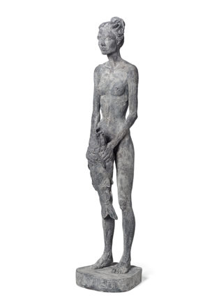 Joscha Bender, Carponizer, 2019, Bronze, 98 x 23 x 23 cm, Aufl.: 6