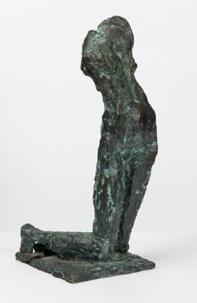 Werner Stötzer, Kleine Kreuzabnahme, 1998, Bronze, H 35, B 14, T 21 cm