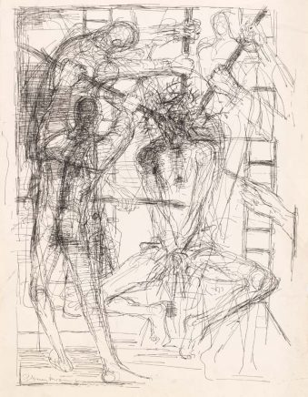 Arno Rink, Zeichnung zu