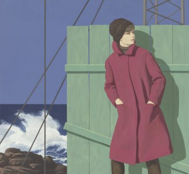 Christian Brandl, Am Meer, 2020, Öl auf Leinwand, 120 x 130 cm
